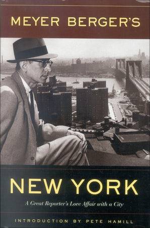 Meyer Berger's New York Paperback  by Meyer Berger