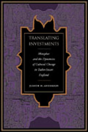 Translating Investments Hardcover  by Judith H. Anderson
