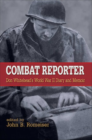 Combat Reporter Hardcover  by Don Whitehead