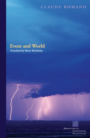 Event and World Paperback  by Claude Romano
