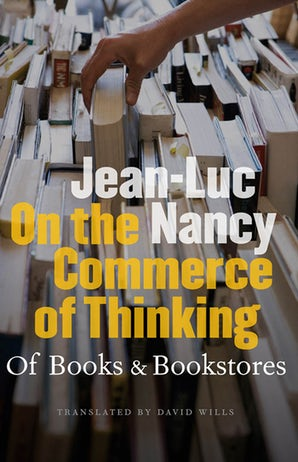On the Commerce of Thinking Paperback  by Jean-Luc Nancy