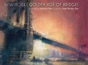 New York's Golden Age of Bridges Hardcover  by Antonio Masi