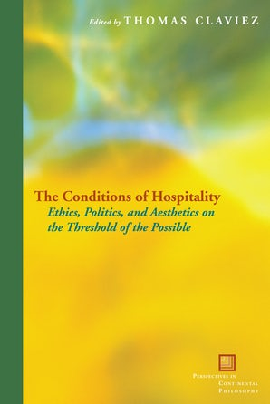The Conditions of Hospitality Paperback  by Thomas Claviez