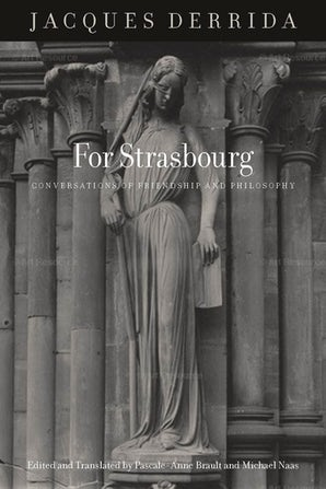For Strasbourg Paperback  by Jacques Derrida