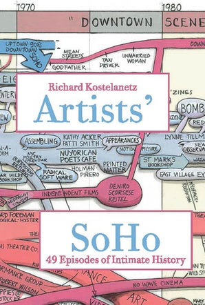 Artists' SoHo Paperback  by Richard Kostelanetz