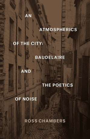 An Atmospherics of the City Hardcover  by Ross Chambers