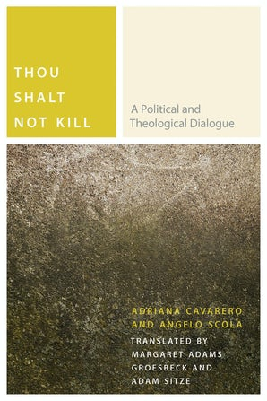 Thou Shalt Not Kill Paperback  by Adriana Cavarero