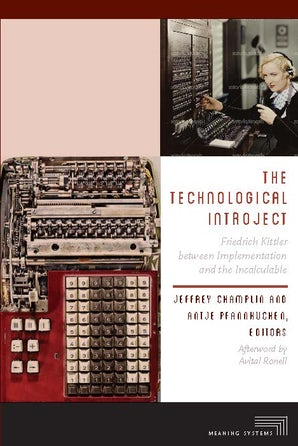 The Technological Introject Paperback  by Jeffrey Champlin