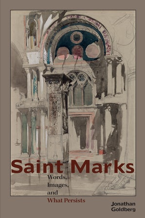 Saint Marks Paperback  by Jonathan Goldberg